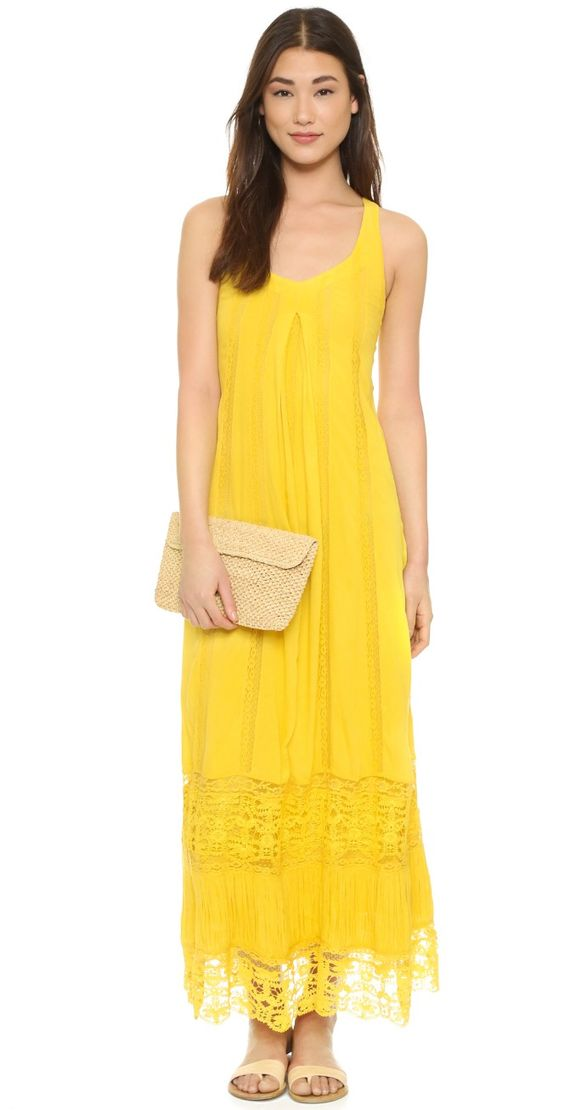 Alice + Olivia Joy Lace Maxi Dress S