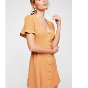 Free People Life Is Sweeter Mini Dress M