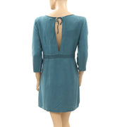 Victor B Solid Green Tunic Dress M-2