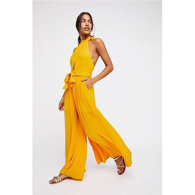 Free People Kissing Sunlight Jumpsuit Dress XS