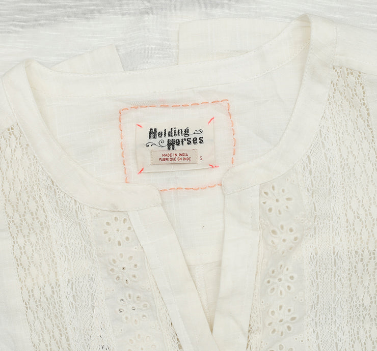 Holding Horses Anthropologie Buttondown Top S