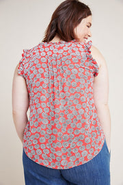 Maeve Anthropologie Rayne Tank Buttondown Blouse Top XS