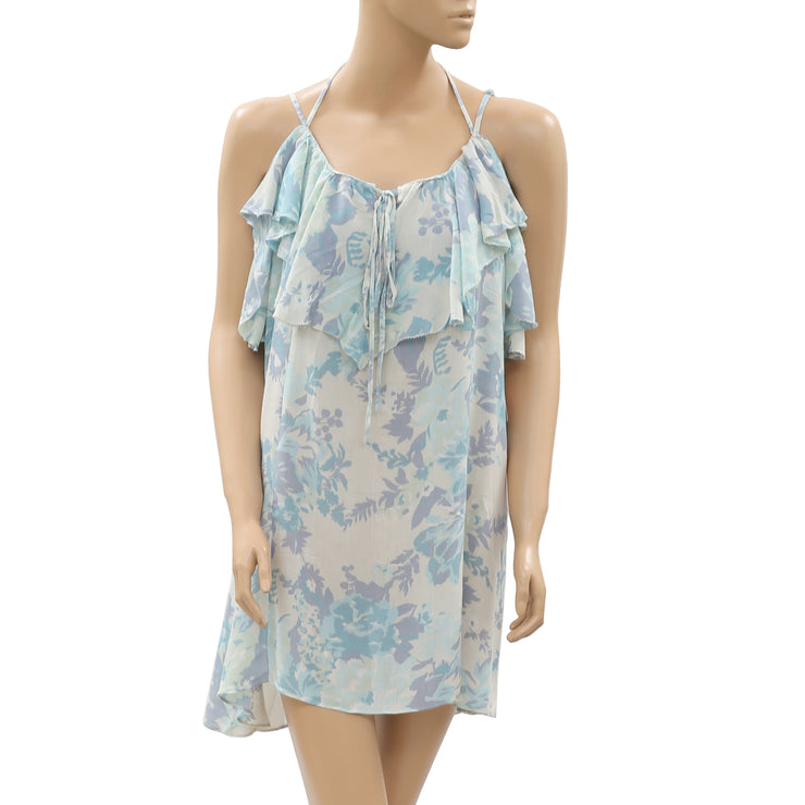 Kimchi Blue urban outfitters Floral Printed Mini Dress L