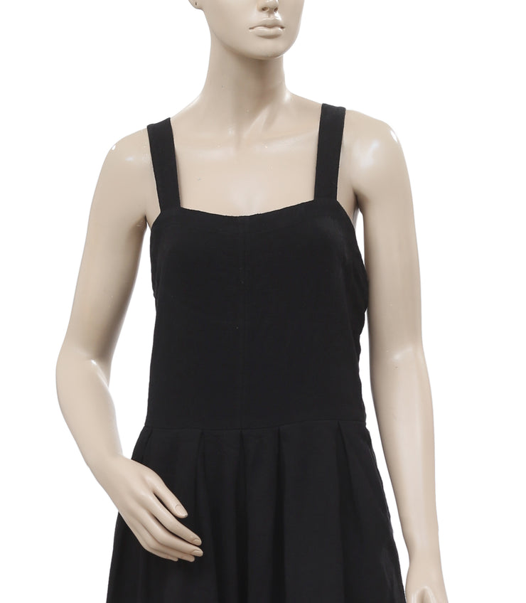 Free People Moonrise Endless Summer Black Cotton Romper Dress Small S