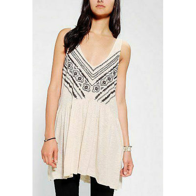 Ecote Urban Outfitters Tino Embroidered Tank Top S