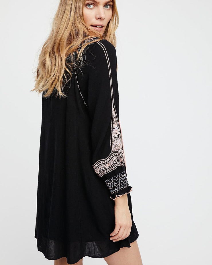 Free People Wind Willow Mini Dress