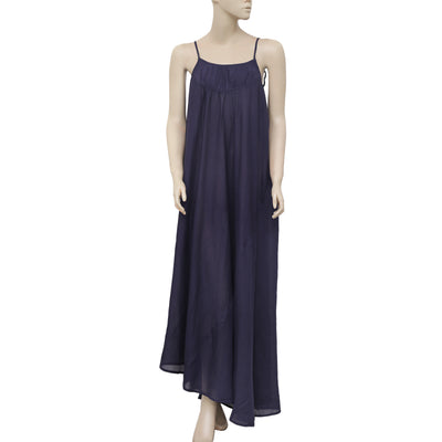 NWT Malia Mills Joni Tie Knot Strap High & Low Long Maxi Dress Medium M 2