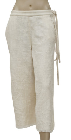 Free People Ivory Wide Leg Pant S
