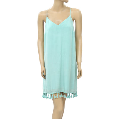 Lilly Pulitzer Solid Slip Mini Dress S