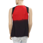 Diesel Dip Dye Printed Blouse Coverup Top XS