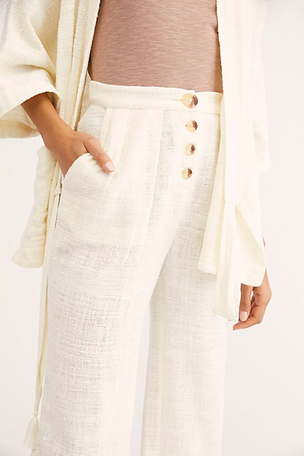 Free People Let's Chill Palazzo Pants M