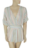 Urban Outfitters Striped Romper Dress Small S
