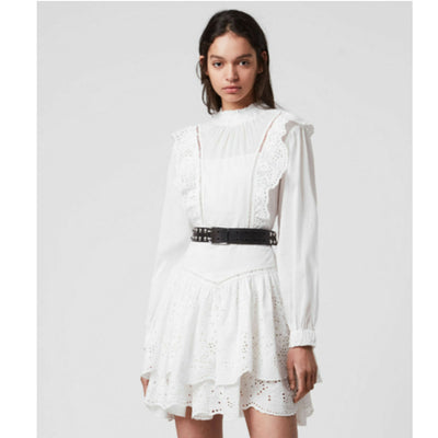 All saints Aislyn Broiderei Mini Dress S
