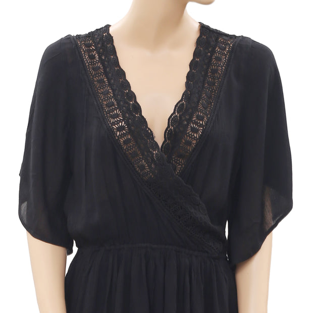 Abercrombie & Fitch Crochet Lace Romper Dress S