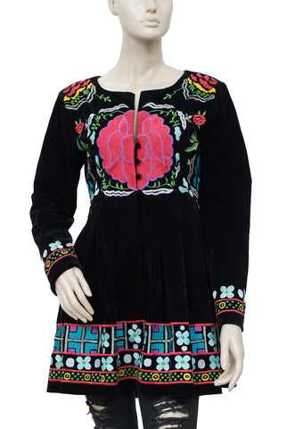 Roja Beautiful Vivid Colorful Embroidered  Jacket S