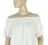 Free People Women's Santorini Ivory Top S