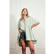 Free People Out In The Wild Tunic Top XS
