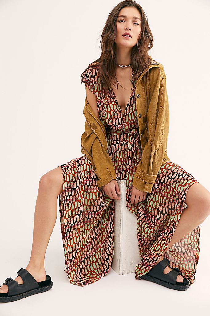 Free People FP One Sahara Jumpsuit Dress