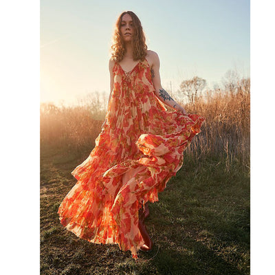 Free People Magnolia Maxi Dress M
