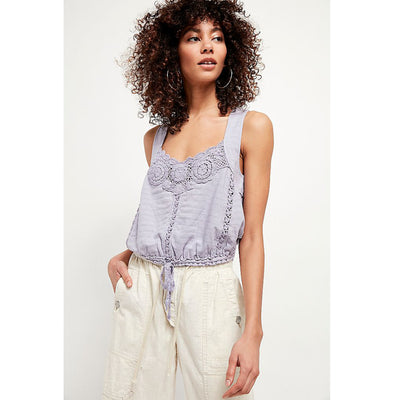 Free People Sweet Something Crop Tank Top S