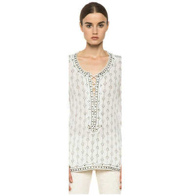 Isabel Marant Alicia Studded Tunic Top S