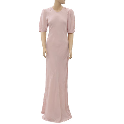 Doen Light Pink Long Maxi Dress S