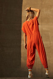 Free People FP Movement Coast To Coast Onesie Jumpsuit Dress