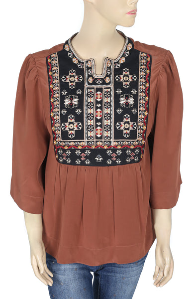 Isabel Marant Roma Brown Top M 38