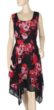 Yours Printed Dress Plus Size 1X