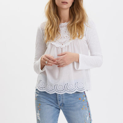 Odd Molly Anthropologie Good Mood Blouse Top S 1