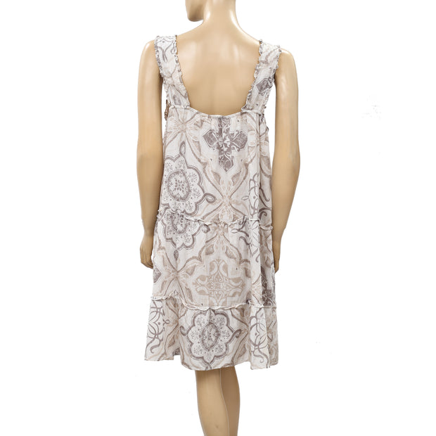 Odd Molly Anthropologie Printed Mini Dress L 3