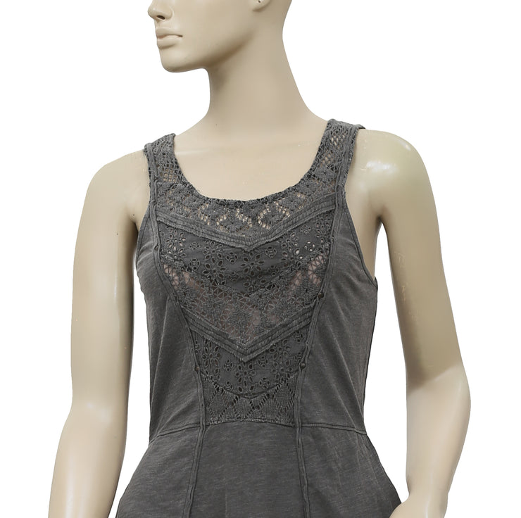 Free People Day Tripper Embroidered Top XS