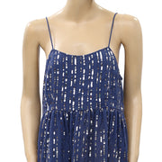 Urban Outfitters Hanna Embellished Sequin Babydoll Mini Dress M