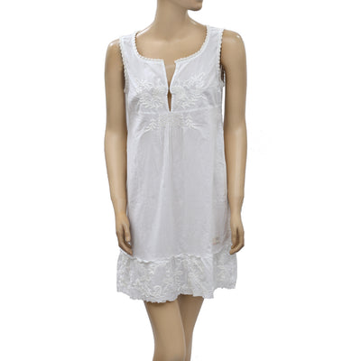 Odd Molly Anthropologie Embroidered Mini Dress S 1
