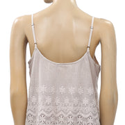 Odd Molly Anthropologie Crochet Lace Blouse Tank Top