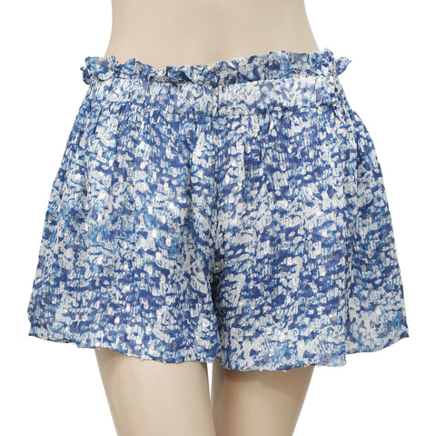Étoile Isabel Marant Printed Ruffle Shorts Medium M