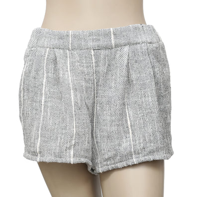 Free People Jacquard Fabric Pocket Pleats Shorts S