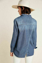 Pilcro And The Letterpress Anthropologie The Cate Classic Shirt Top S
