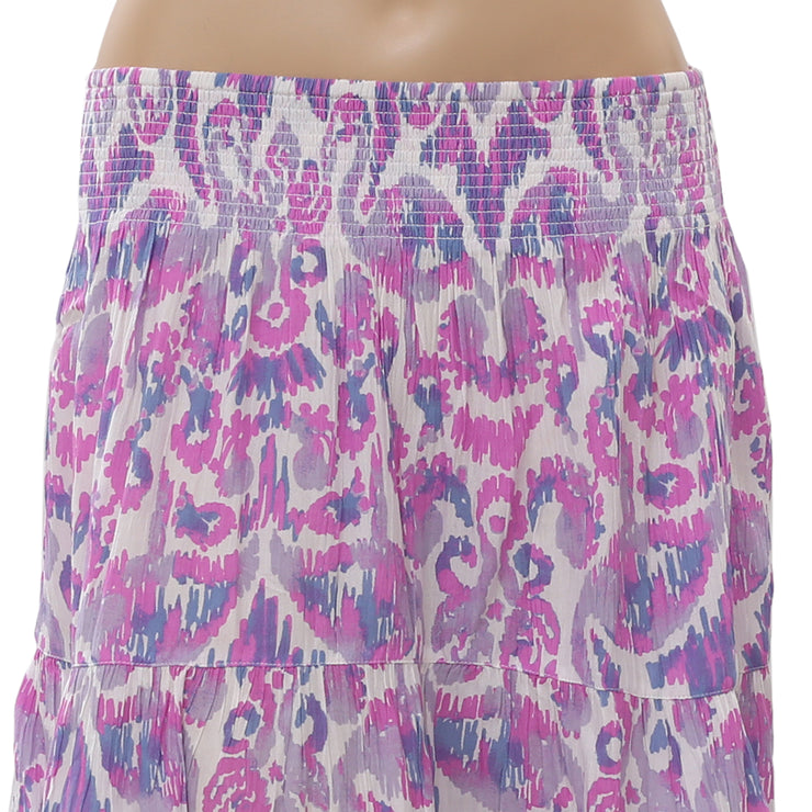 Lilly Pulitzer Evelyn Printed Mini Skirt High Waisted Summer Beach S NWT