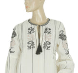 Ulla Johnson Embroidered Blouse Top XS 2