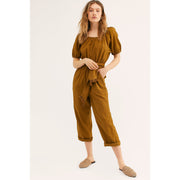 Free People Nalani Off-The-Shoulder Jumpsuit XS