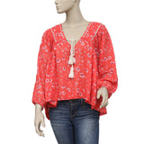 Free People Never A Dull Moment Printed Top S