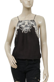 Free People Love This Embroidered Bodysuit Top XS
