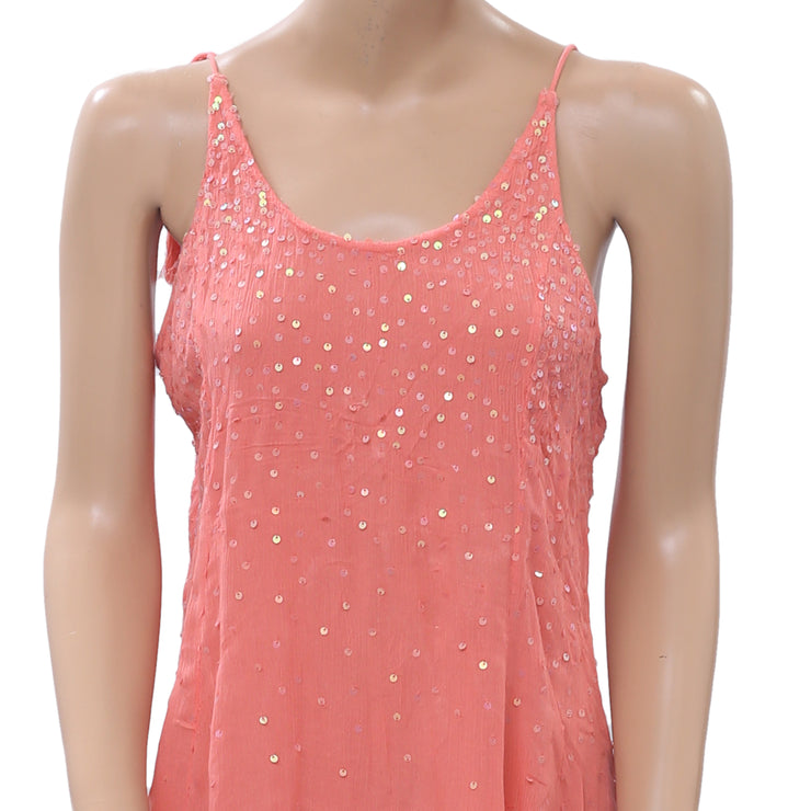 Intimately Free People Just Sequin Mini Dress S