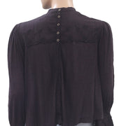 Free People Femme Fatale Blouse Top