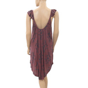 Free People Drifter Tank Paisley Printed Tunic Dress S