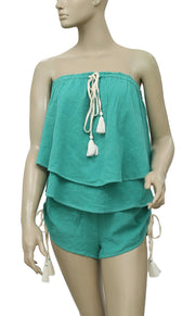 Free People Tier It Up Set Top Shorts Set S