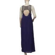 Staring At Stars Anthropologie Cutout Maxi Dress S