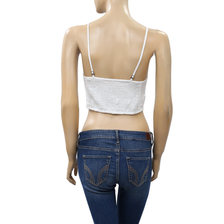 Free People FP One Bralette Crop Top S New