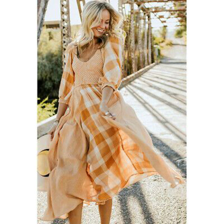 Free People Old Friends Midi Dress